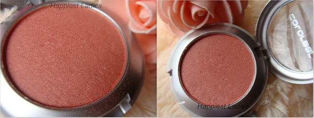 Colorbar Powder Blush Peachy Rose Pan+blusher