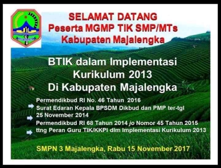 MGMP TIK SMP dan MTs Kab Majalengka