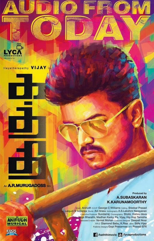 Download New Tamil Movies And Song : Kaththi (2014) - [Itunes ...