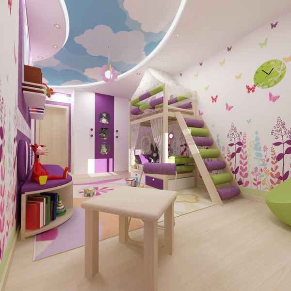 Bright Interiors Children S Rooms And Cool Designs For