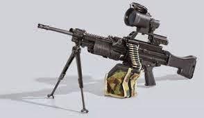 Heckler & Koch HK416 (Senapan Mesin)