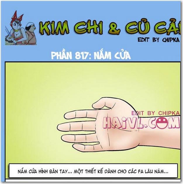 Kim chi và củ cải phần 817 - Nắm cửa. Đón xem các tập mới nhất mỗi ngày - Trọn bộ Kim chi và củ cải 18+