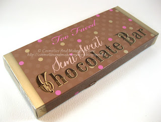 Too Faced - Semi-Sweet Chocolate Bar - packaging