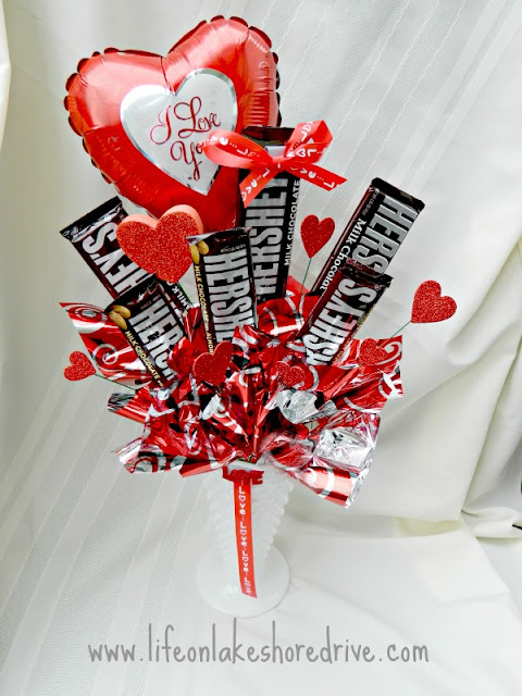 Valentine's Day Bouquet of Candy