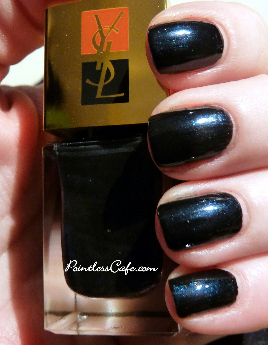 YSL The Black Collection Nail Polishes for 2011 | Pointless Cafe