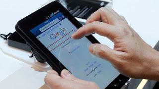 browsing menggunakan tablet android
