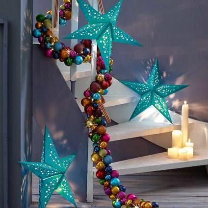 Icono interiorismo estrellas para decorar la navidad - Ideas para decorar estrellas de navidad ...