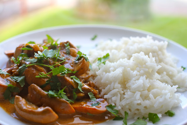 Mushroom Stroganoff - serves 1 mushroom obsessed toddler or possibly 2 ...