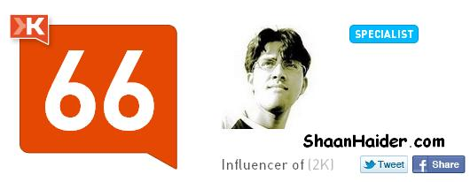 HOW TO : Give K+ On Klout To Your Friends