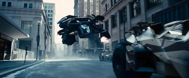 the Dark Knight rises - il Cavaliere Oscuro: il ritorno - batwing