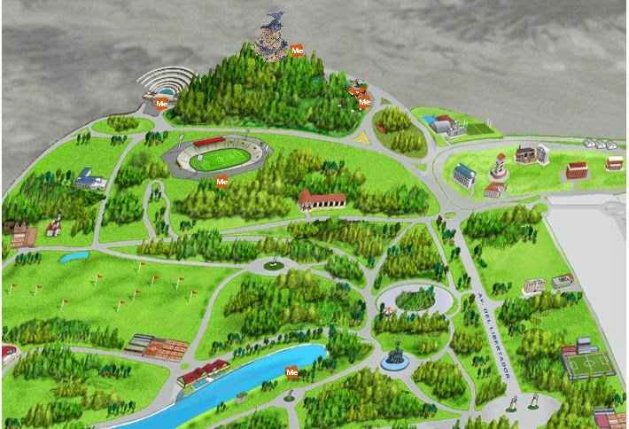 Mapa Mendoza 3D