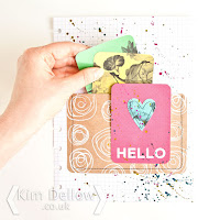 Planner pocket page made using journaling cards