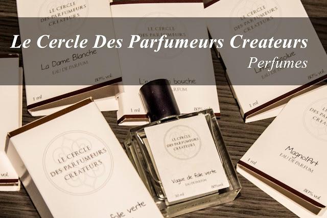 Las 6 nuevas fragancias de Le Cercle Des Parfumeurs Createurs.