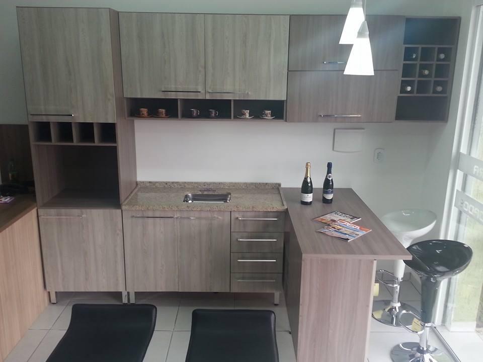 Ambientes Planejados Móveis Planejados já prontos (Finalizados) # Bancada Cozinha Luciane