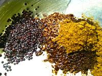 ghee cumin mustard seeds garam masala