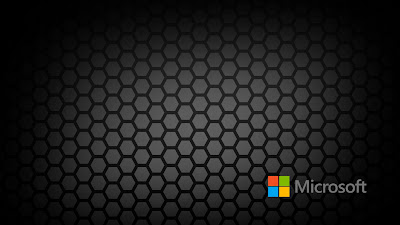 Honeycomb 2013 Microsoft Company Logo Wallpaper