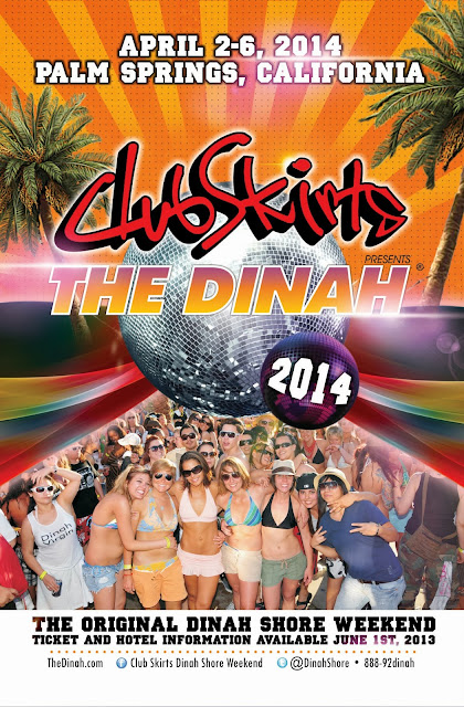 Club Skirts Dinah Shore Weekend Sponsors Fundraising Event For Tails    Dinah Shore 2014