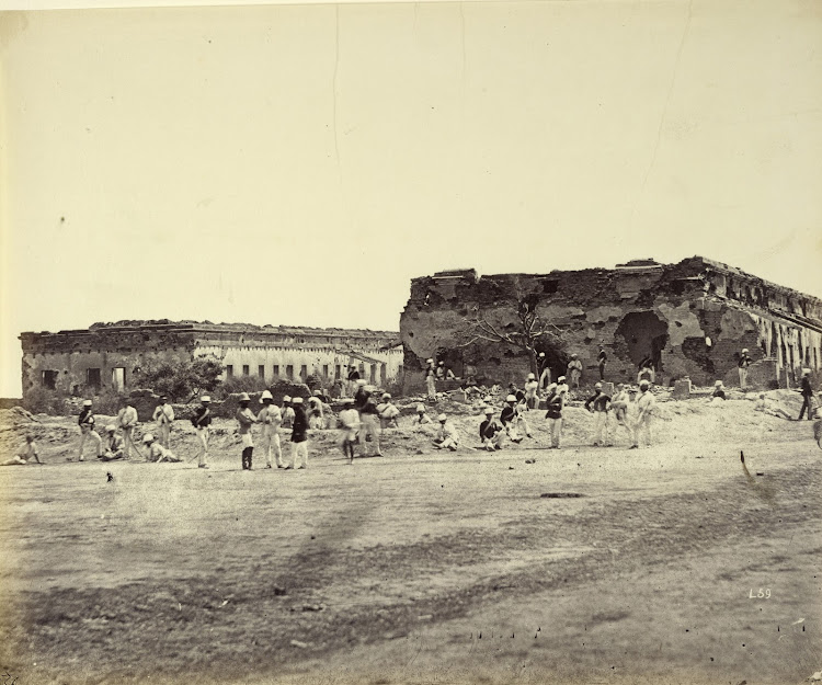 General Wheeler's Entrenchment at Cawnpore (Kanpur), after Indian Mutiny - c1860's