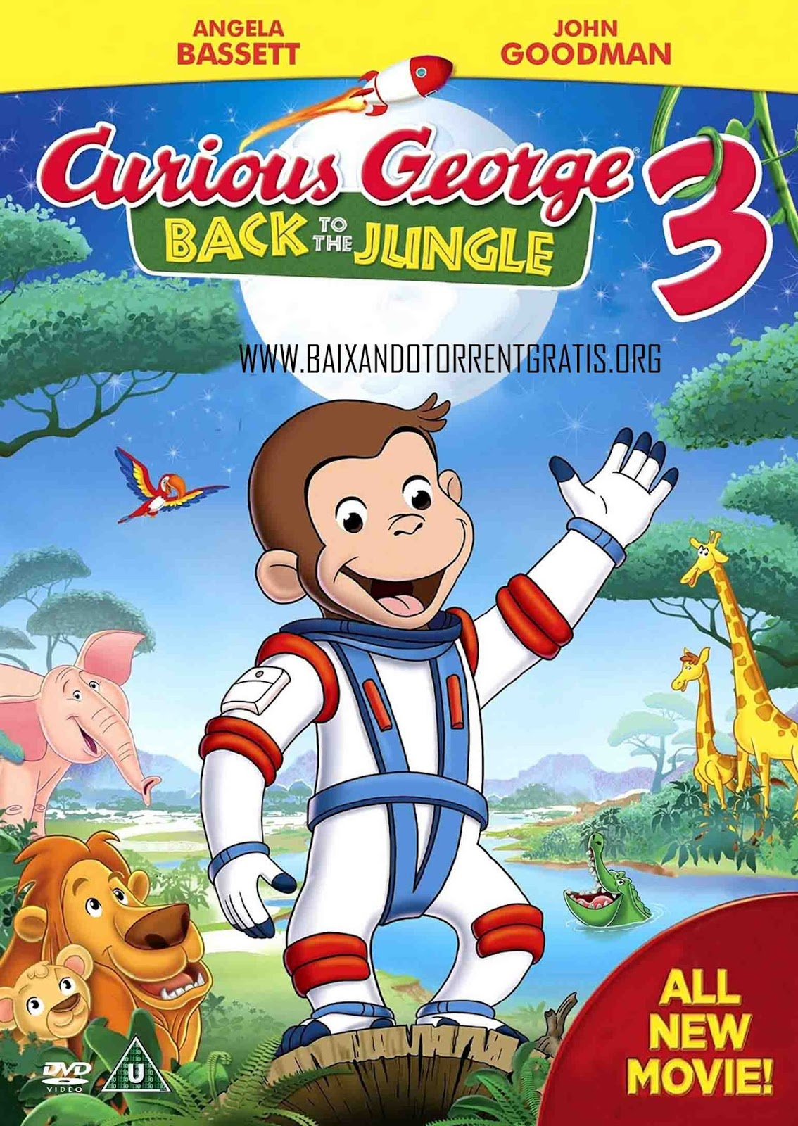 George: O Curioso 3 Torrent - Blu-ray Rip 720p e 1080p Dual Áudio (2015)