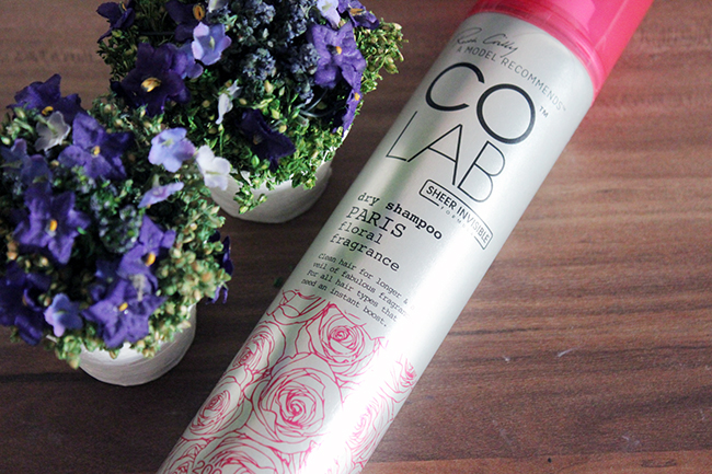 Review of Ruth Crilly's Colab Sheer Invisible Dry Shampoo