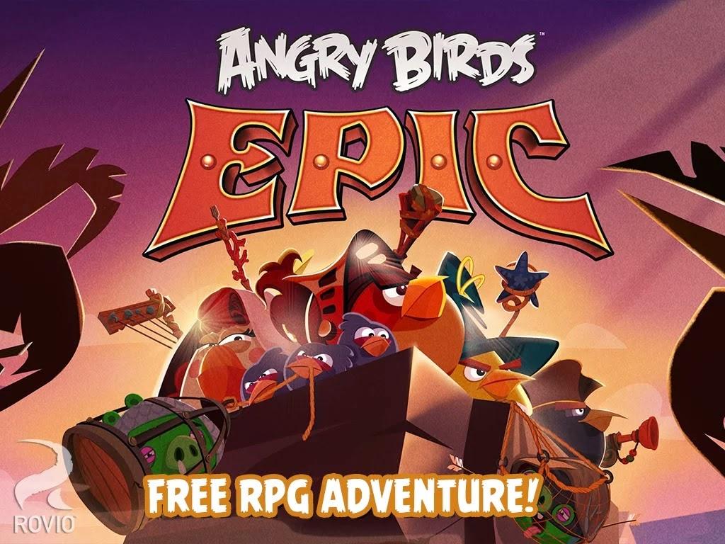 Angry Birds Epic v1.0.8 APK Terbaru
