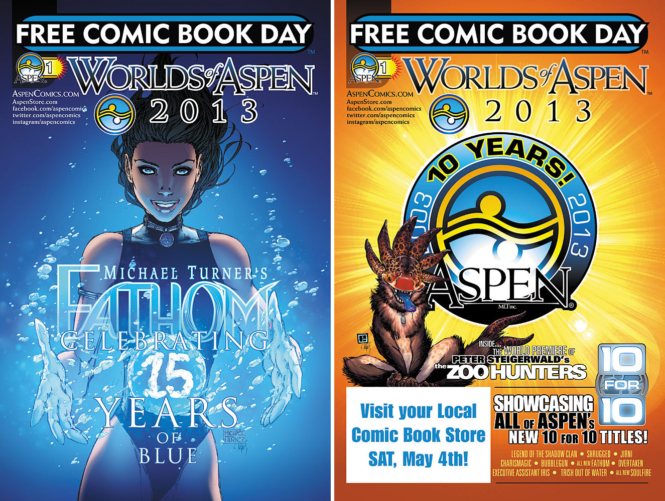 Aspen Comics Reveals Free Comic Book Day Schedule of Events