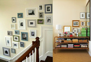 How to Arrange Pictures and Photo Frames in Your House
