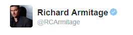 Richard Armitage na Twitterze