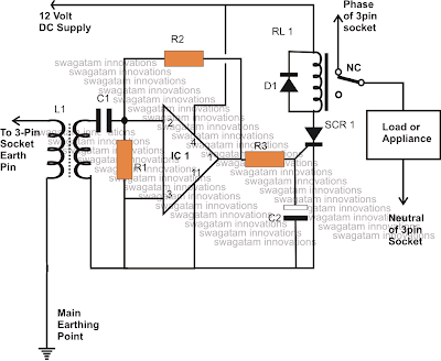 How to make a homemade earth leakage circuit breaker elcb unit using elcb circuit using relay asfbconference2016 Choice Image