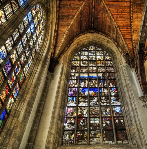 Oude Kerk em Amsterdã