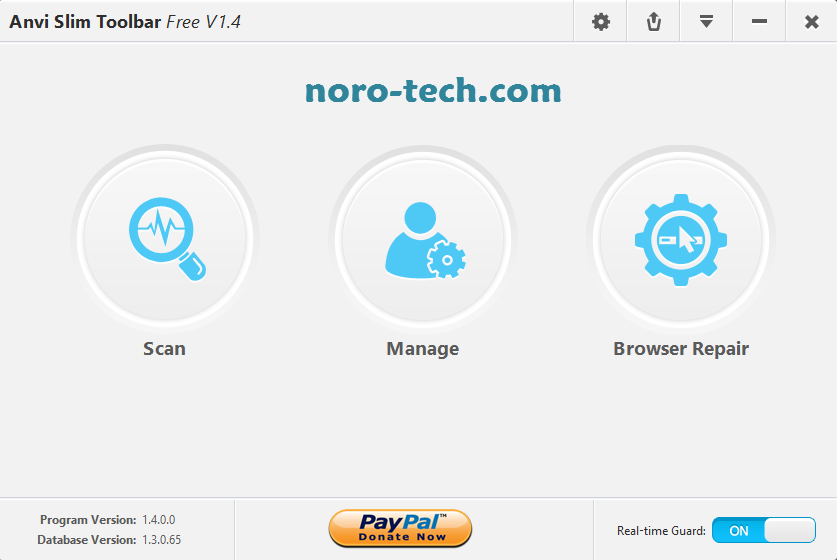 Anvi Slim Toolbar لحماية متصفحاتك من الإختراق و إزالة التولبارات و الإعلانات المزعجة