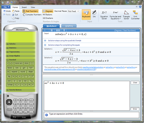 Download microsoft mathematics Full