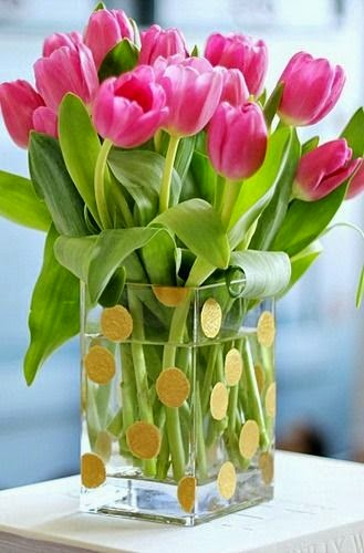 wiosenne inspiracje tulipany