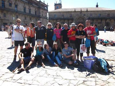 Obradoiro in Santiago de Compostela