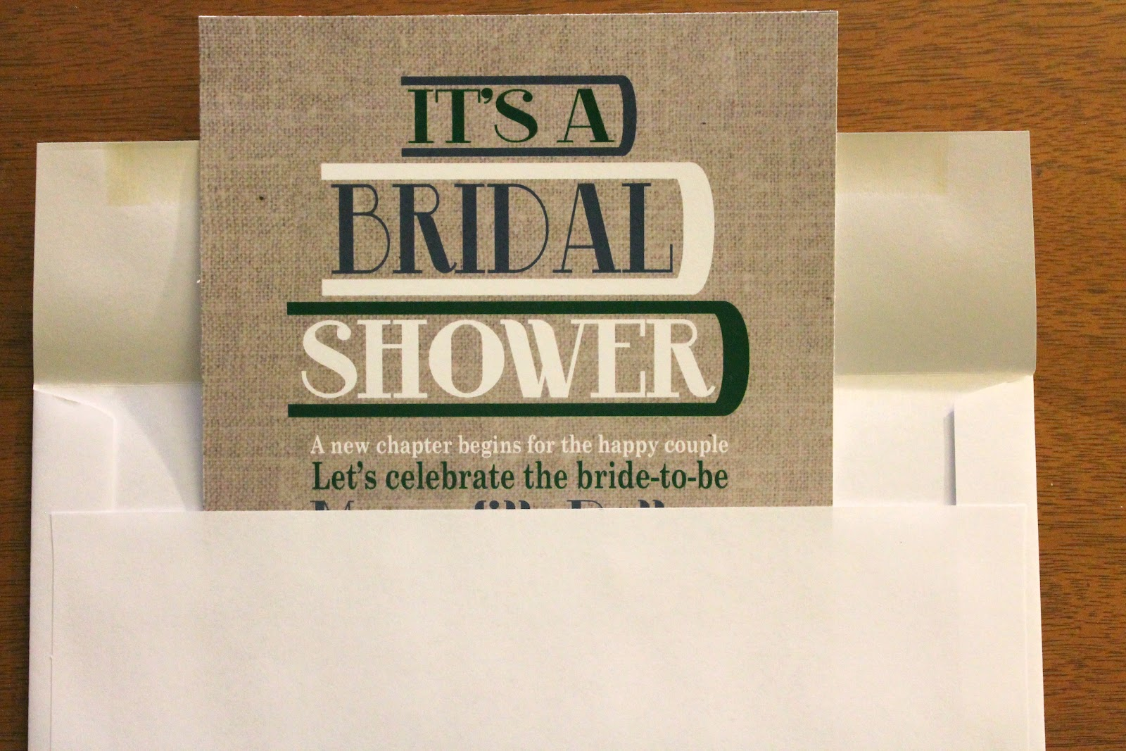 She Always Loved Larking A Literary Bridal Shower Diy How To Post