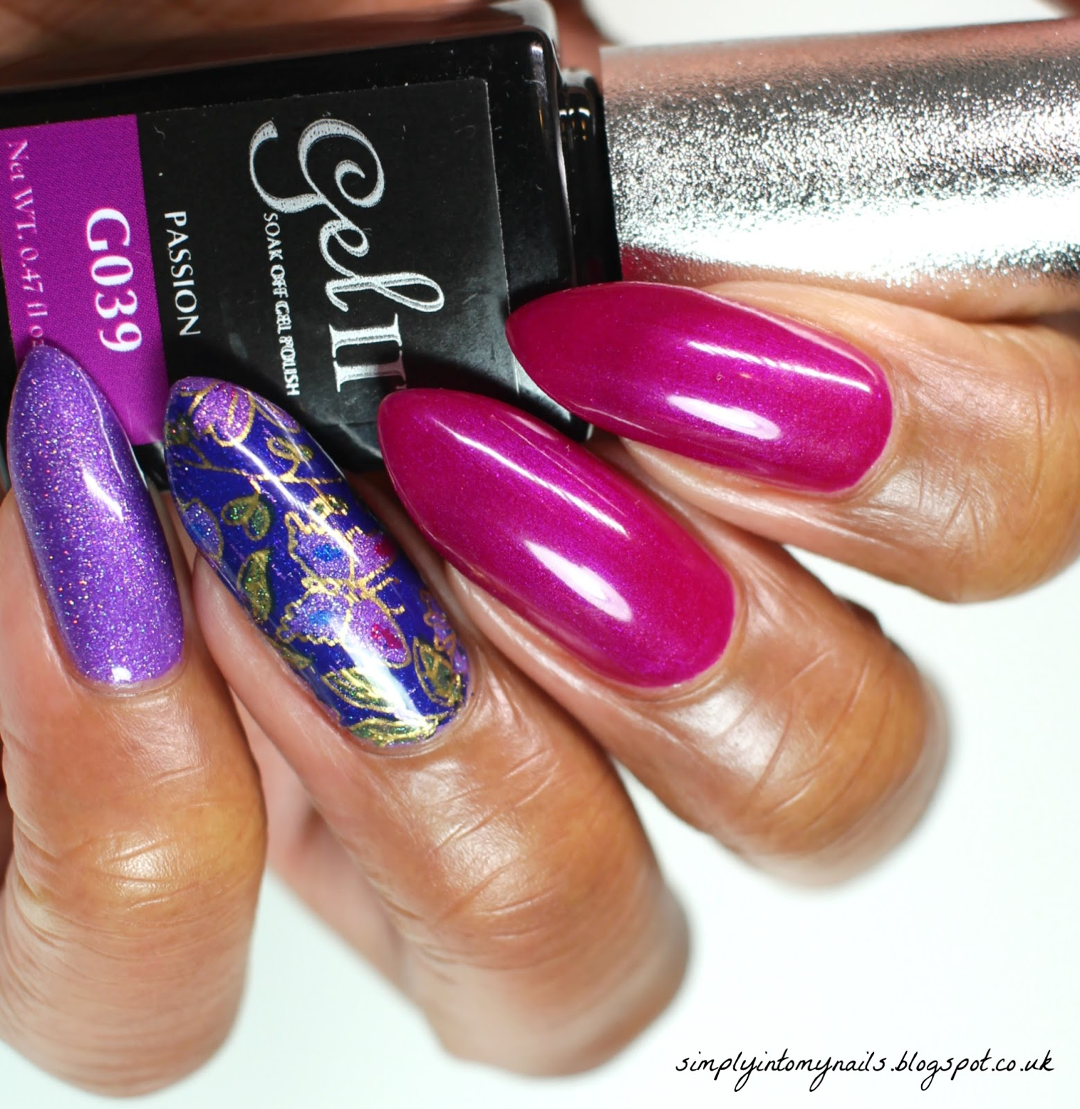 Gel II & Glitter & Nail Foils...Oh My!!! | Simply Into My NAILS
