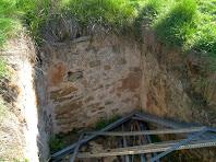 L'antiga cisterna del Castell de Gurb