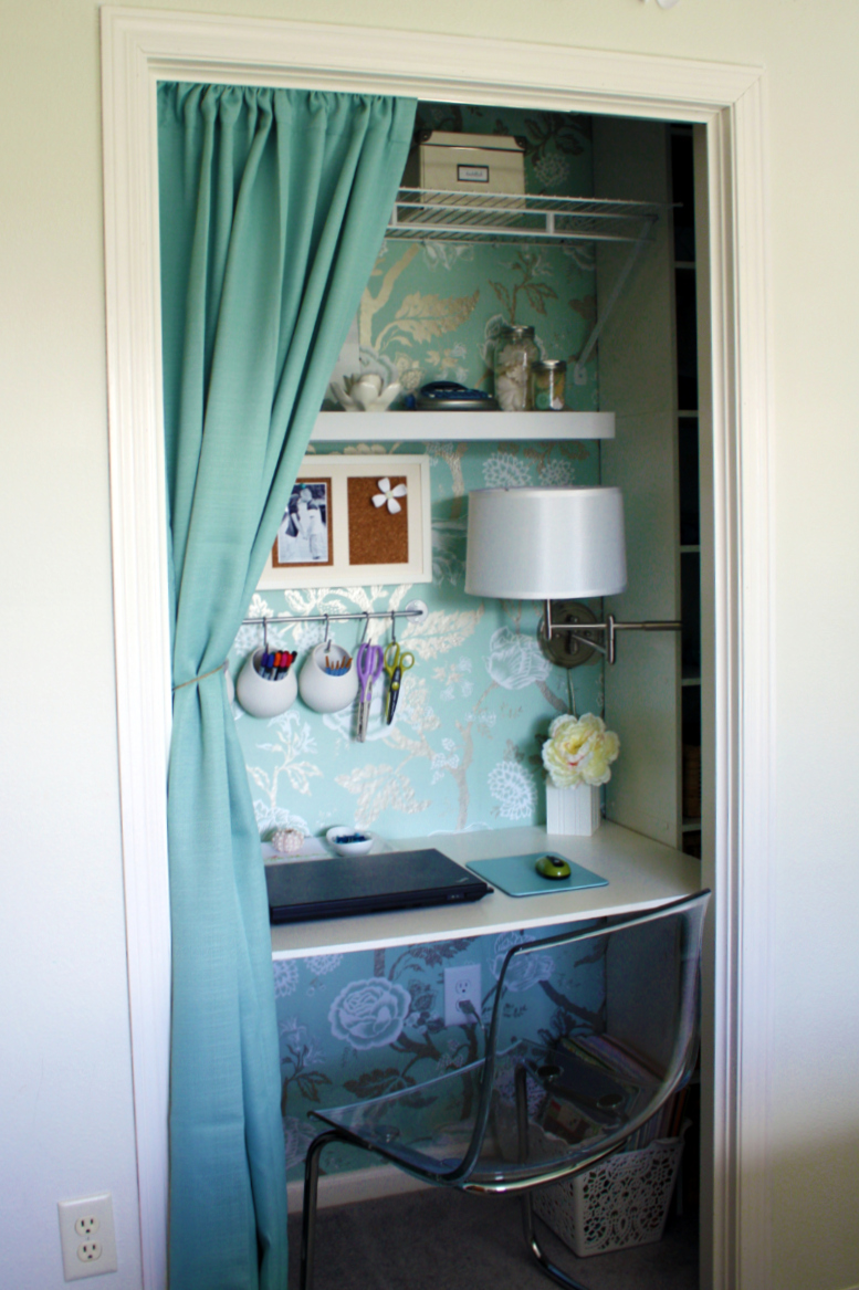 Made of Metal: How to turn a closet into an office