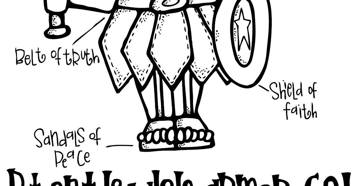Melonheadz LDS illustrating: The Armor of God