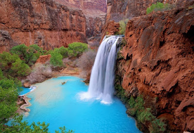 Tour on the famous Havasu Falls