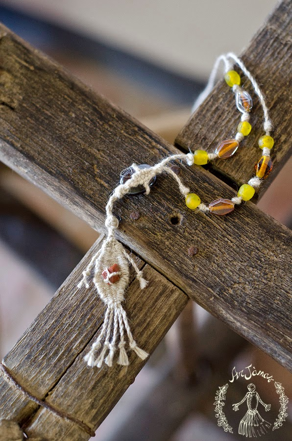 collana con pietra dura creazione del laboratorio arjanas