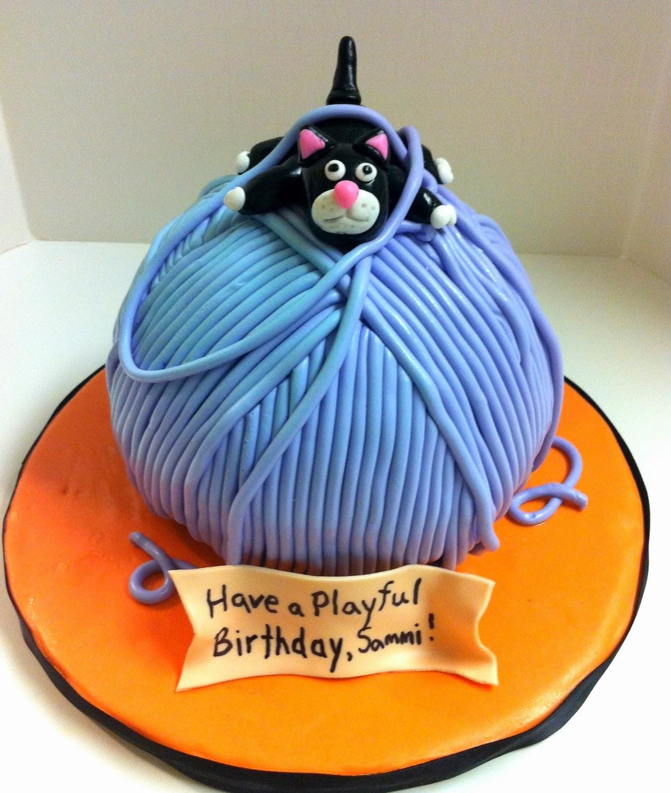 Hogans Sweet Art Playful Kitty Cake