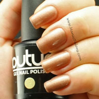 Couture Gel Polish Gilded Swatch