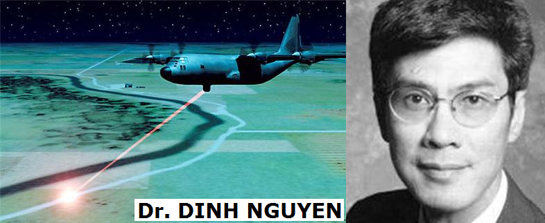 • Dr Dinh Nguyen: Navy's next-generation weapon system.