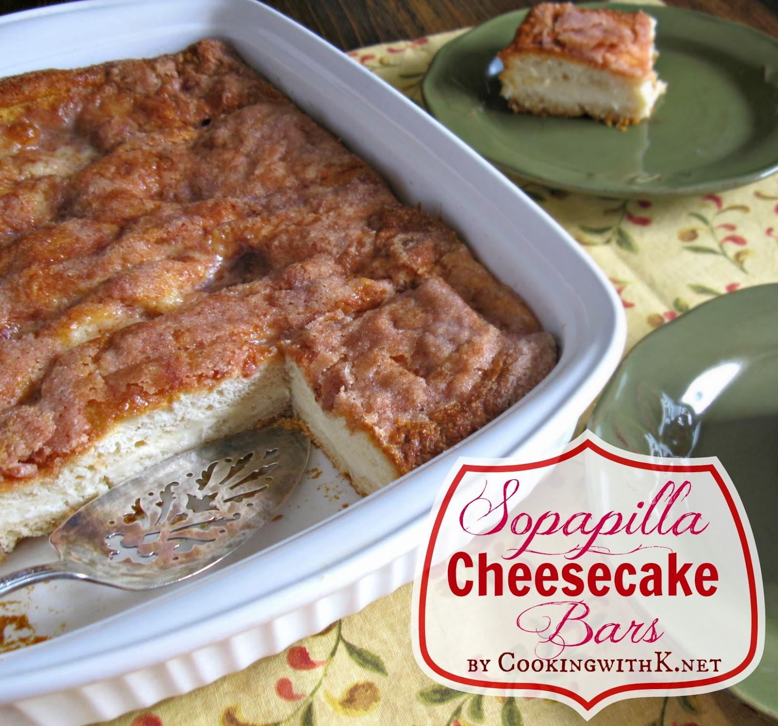 Sopapilla Cheesecake Bars {Jennifer's Recipe}