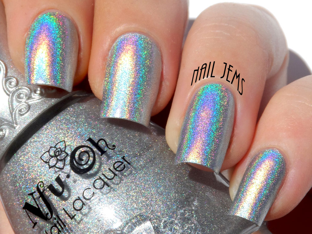 Nail Jems: \'Nfu - Oh\' Swatch & Review Feature Week, Day 5 - Holo ...