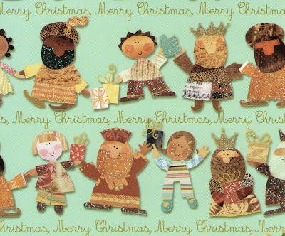 Postal navideña - Merry Chistmas