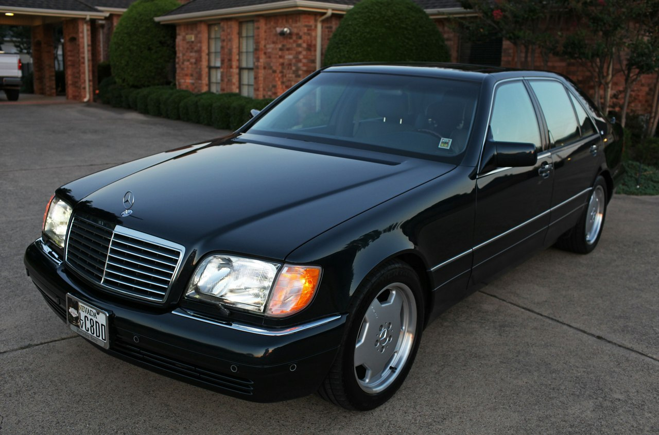 mercedes benz w140 s600 on amg monoblocks benztuning