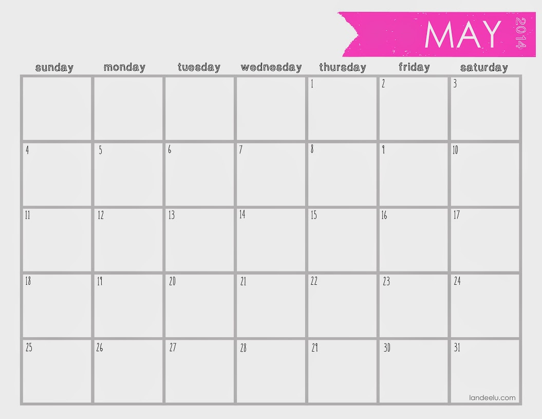 12 Month Printable Calendar For 2015/page/2 | Search Results ...