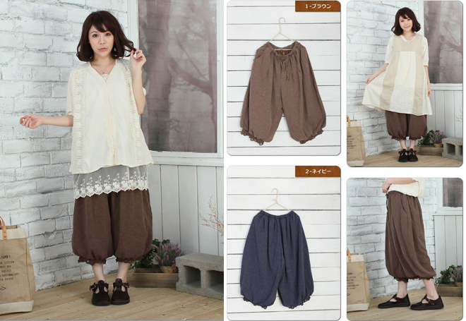 Mori Girl fashion in June